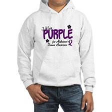 I Wear Purple 14 (Alzheimers Awareness) Hoodie