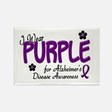 I Wear Purple 14 (Alzheimers Awareness) Rectangle