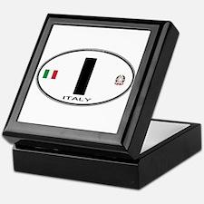 Italy Euro Oval Keepsake Box