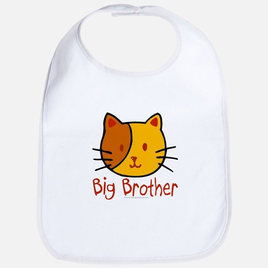 Cat Big Brother Bib