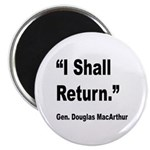 MacArthur I Shall Return Quote 2.25