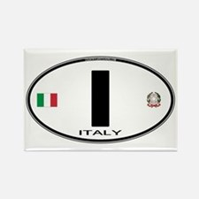 Italy Euro Oval Rectangle Magnet (100 pack)