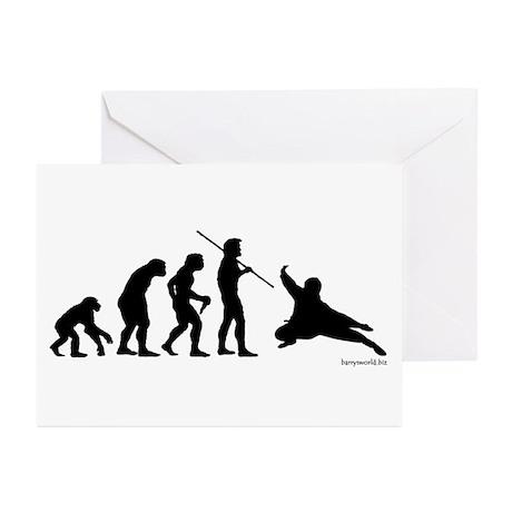 Ninja Evolution Greeting Cards (Pk of 20)