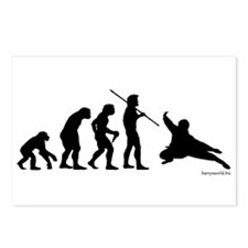 Ninja Evolution Postcards (Package of 8)