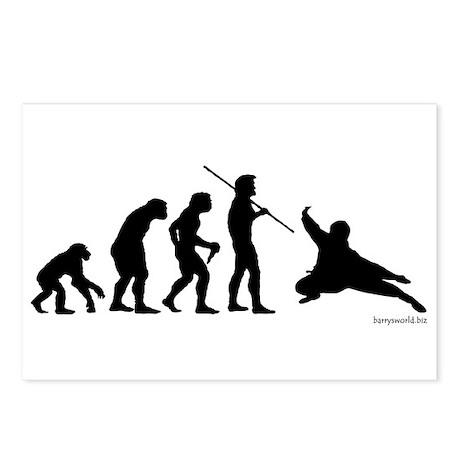 Ninja Evolution Postcards (Package of 8)
