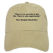 MacArthur Opportunity Quote Baseball Cap