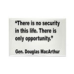 MacArthur Opportunity Quote Rectangle Magnet