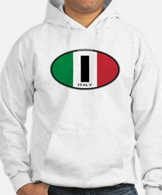 Italy Oval Colors Hoodie