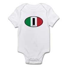 Italy Oval Colors Infant Bodysuit
