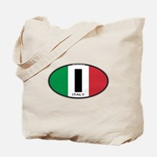 Italy Oval Colors Tote Bag