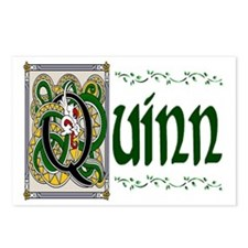 Quinn Celtic Dragon Postcards (Package of 8)
