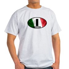 Italy Oval Colors 2 T-Shirt