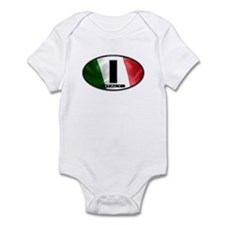 Italy Oval Colors 2 Infant Bodysuit