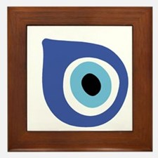 EVIL EYE PROTECTION Framed Tile