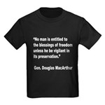 MacArthur Freedom Blessings Quote (Front) Kids Dar