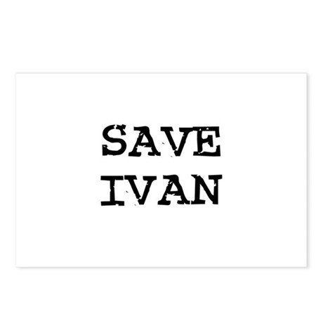 Save Ivan Postcards (Package of 8)