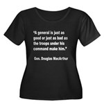 MacArthur General and Troops Quote (Front) Women's