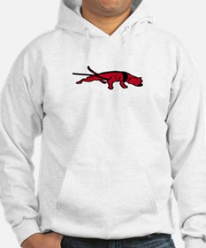 Red Pit Bull Percentage Players Hoodie