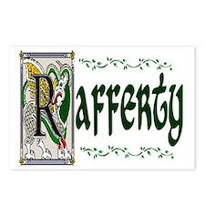 Rafferty Celtic Dragon Postcards (Package of 8)