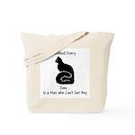 Pussy Jokes Tote Bag