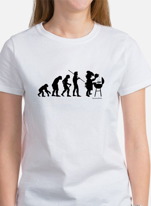Barbecue Evolution Women's T-Shirt