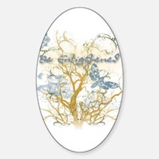 Be Enlightened! Oval Decal