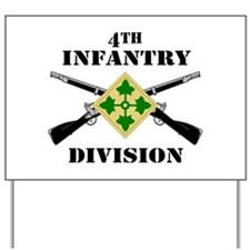 4th Infantry Division (2) Yard Sign