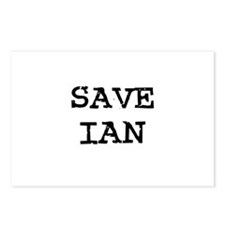 Save Ian Postcards (Package of 8)