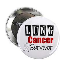 """Lung Cancer Survivor 2.25"""" Button"""
