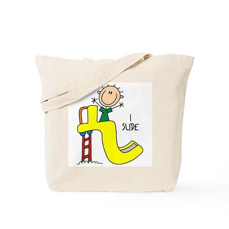 I Slide Tote Bag
