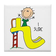 I Slide Tile Coaster