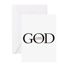 God Is Totally Colorblind Greeting Cards (Pk of 20