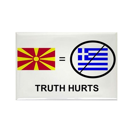 Macedonian not Greek Rectangle Magnet (10 pack)