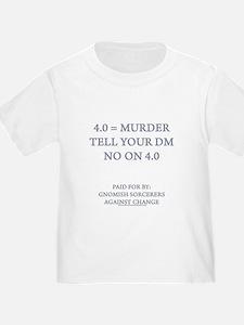 4.0 = Murder T