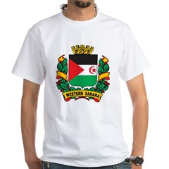 Western Sahara Crest White T-Shirt