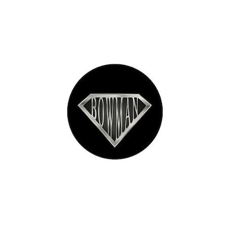 SuperBowman(metal) Mini Button