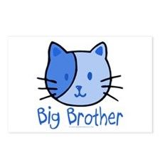 Cat Blue Big Brother Postcards (Package of 8)