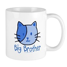 Cat Blue Big Brother Mug