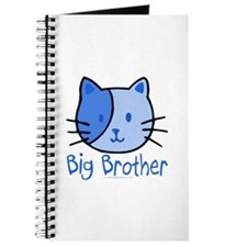 Cat Blue Big Brother Journal