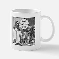 Jesus Wine Mug