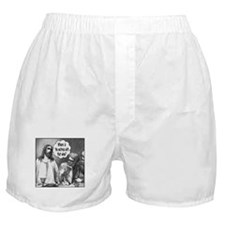 Jesus Wine Boxer Shorts