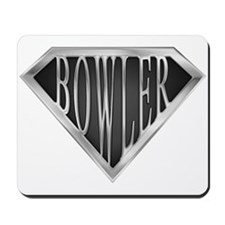 SuperBowler(metal) Mousepad