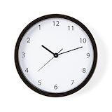 Backwards Wall Clocks