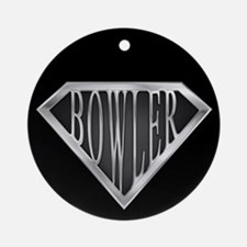 SuperBowler(metal) Ornament (Round)
