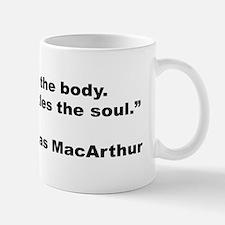 MacArthur Quitting Quote Mug
