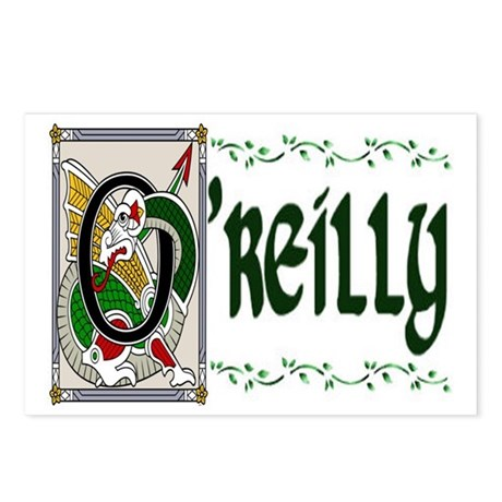 O'Reilly Celtic Dragon Postcards (Package of 8)