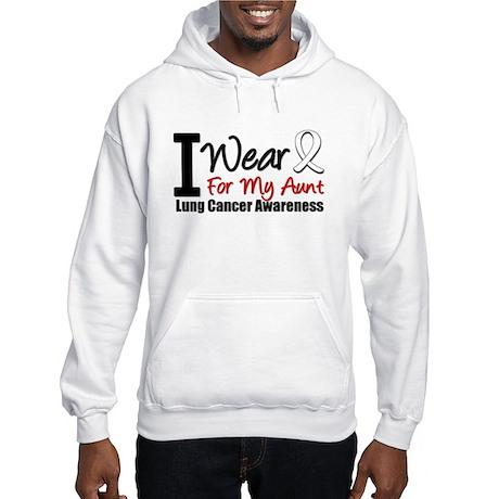 I Wear Pearl For My Aunt Hooded Sweatshirt