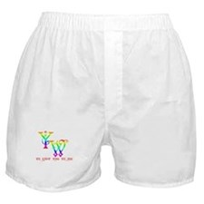 YW-WE KNOW WHO WE ARE Boxer Shorts