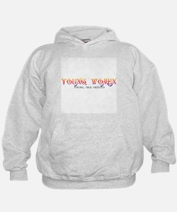 YOUNG WOMEN-STONG, TRUE, VIRTUOUS Hoodie