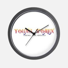 YOUNG WOMEN-STONG, TRUE, VIRTUOUS Wall Clock